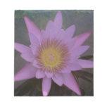 Fushia Pond Lotus Scratch Pad