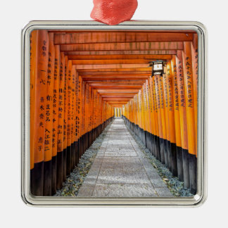 Fushimi Inari Shrine, Kyoto Japan Metal Ornament