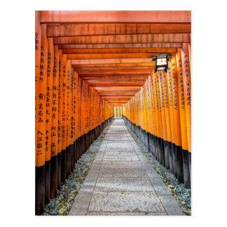 Fushimi Inari Shrine, Kyoto Japan Postcard