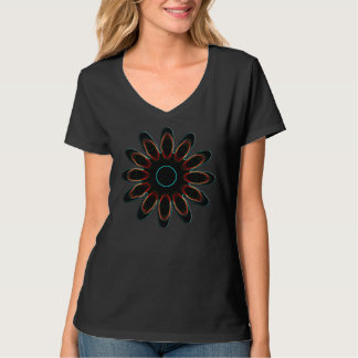 fushion,flower,fashion,sun playera