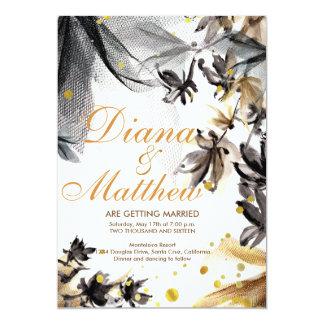 Fusian Romance wedding invitation