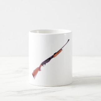 Fusil rifle tazas de café