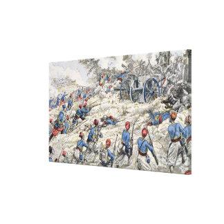 Fusileros argelinos del ejército francés impresión en lienzo