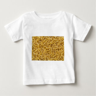 Fusilli pasta macro as background structure baby T-Shirt
