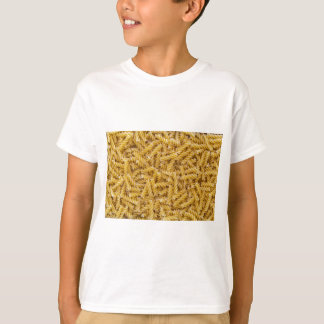 Fusilli pasta macro as background structure T-Shirt