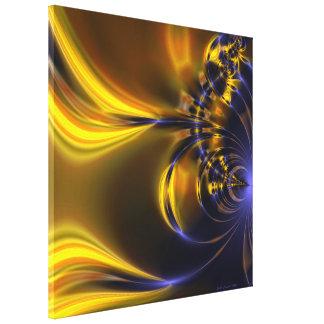 Fusion 2 Fractal Art Gallery Wrap Canvas