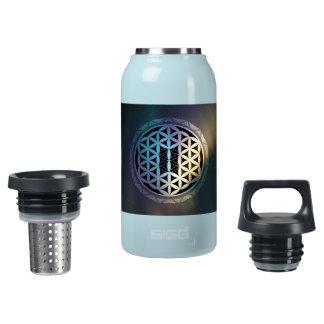 fusion_aurora_mandala insulated water bottle