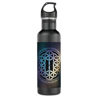 fusion_aurora_mandala stainless steel water bottle