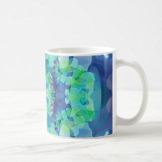 Fusión azul taza