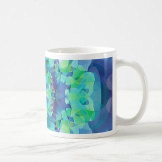 Fusión azul taza clásica