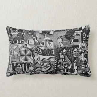 fusion_cosmicRAY Throw Pillow