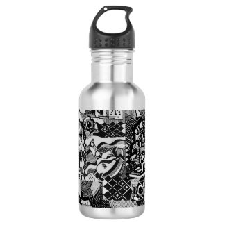 fusion_cosmicRAY Water Bottle