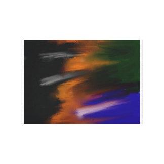 Fusion De Cores Canvas Print
