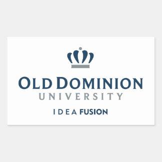Fusión de la IDEA de ODU Pegatina Rectangular