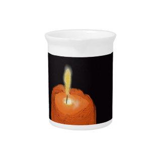 fusión de la vela jarra para bebida