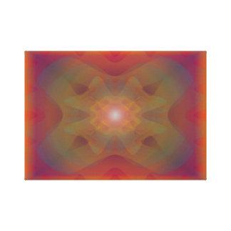 Fusión de un solo átomo - con seguridad c de impresión en lienzo