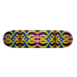 """Fusión del arco iris (cubierta del monopatín) patineta 7 1/4"""""""