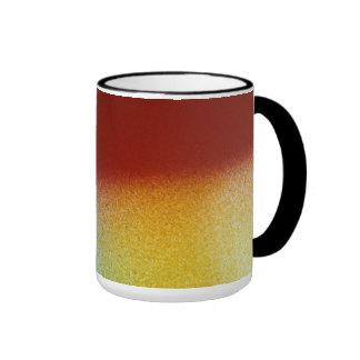 Fusión del color taza a dos colores