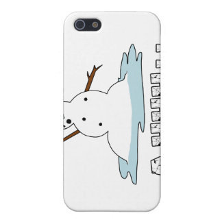 Fusión del muñeco de nieve iPhone 5 fundas