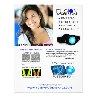 Fusion Flyer Option 1 - White
