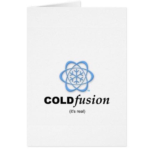 Fusión fría - es real tarjetón
