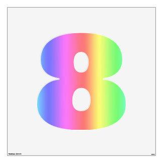 Fusión número ocho del arco iris grande