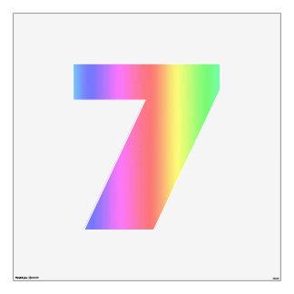 Fusión número siete del arco iris grande