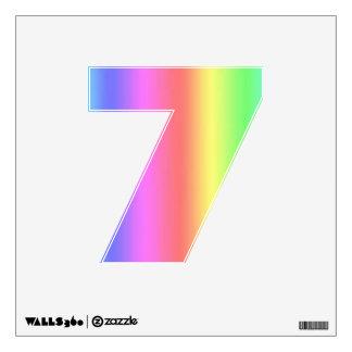 Fusión número siete del arco iris pequeño