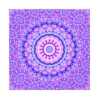 Fusion of Light Mandala Canvas Print