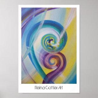 Fusion Poster ~ Reina Cottier Art