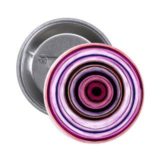 fusión rosada pin redondo de 2 pulgadas