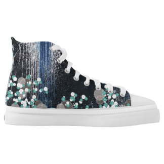 fusion_splatter High-Top sneakers