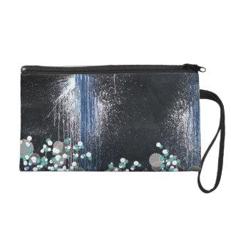 fusion_splatter wristlet purse