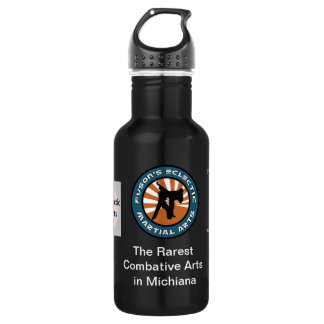Fuson Martial Arts  Dark Waterbottle Stainless Steel Water Bottle
