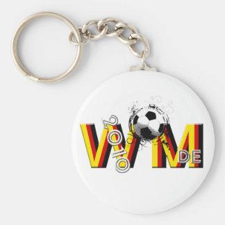 Fussball DE 2010 - regalos de Alemania del fútbol Llavero Redondo Tipo Pin