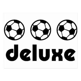 fußball deluxe icon postcard