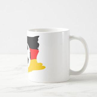 Fussball deutschland fahne coffee mugs