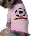 Fussball Deutschland Hundetshirt