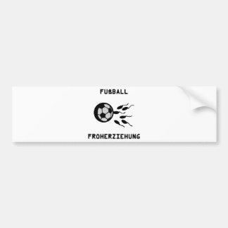 Fussball Früherziehung Symbol Bumper Sticker