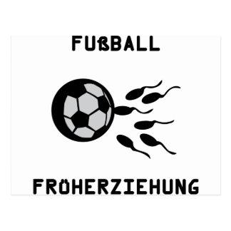 Fussball Früherziehung Symbol Postcard