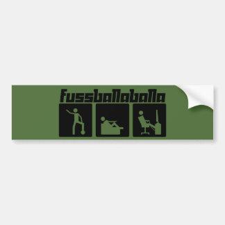 Fussballaballa Bumper Sticker