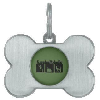 Fussballaballa Pet ID Tag