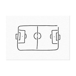fussballfeld de arriba linien