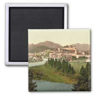Fussen, Bavaria, Germany 2 Inch Square Magnet