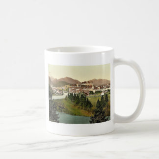 Fussen, Bavaria, Germany vintage Photochrom Classic White Coffee Mug
