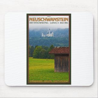 Füssen - Schloß Neuschwanstein from Afar Mouse Pad