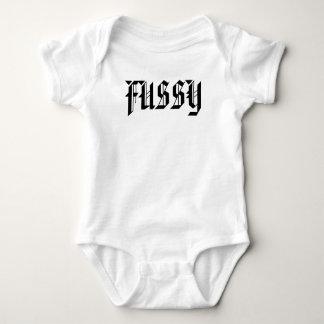 FUSSY BABY BODYSUIT