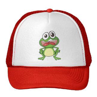 Fussy Frog Cap Trucker Hat