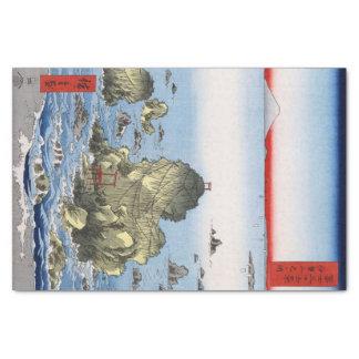 """Futamigaura in Ise Province 10"""" X 15"""" Tissue Paper"""