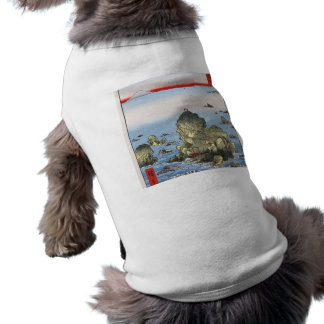 Futamigaura in Ise Province Pet T-shirt